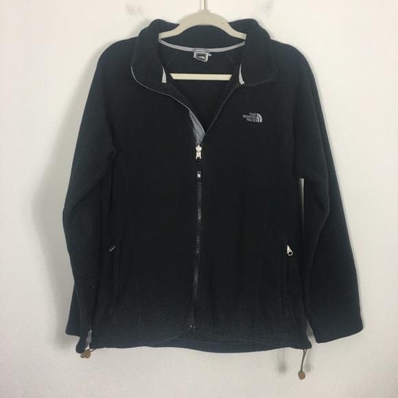 The North Face Jackets & Blazers - The North Face Black Fleece Zip Up Jacket
